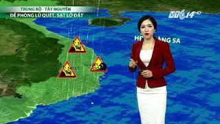 VTC14 | Thời tiết 6h 04/11/2017 | Bão số 12 càng đi về phía đất liền càng mạnh thêm