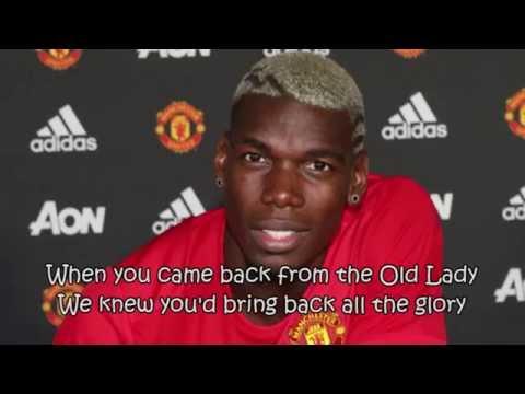 Paul Pogba fans song