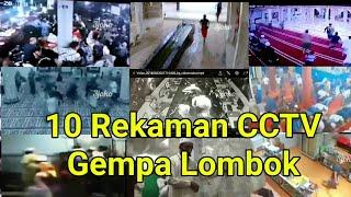 Download Video 10 Rekaman CCTV dahsyatnya Gempa Lombok MP3 3GP MP4