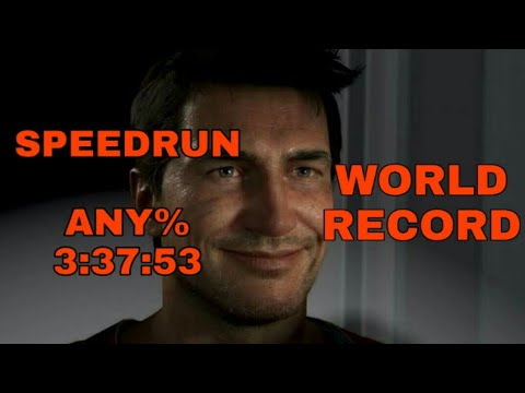 Uncharted 4: A Thief's End - WORLD RECORD - SPEEDRUN ANY% (3:37:53)