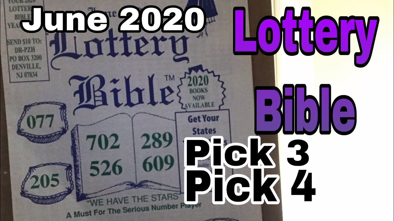 Lottery bible large print