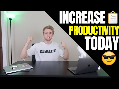 How To Get MORE Work Done Every Day (Productivity Strategy)