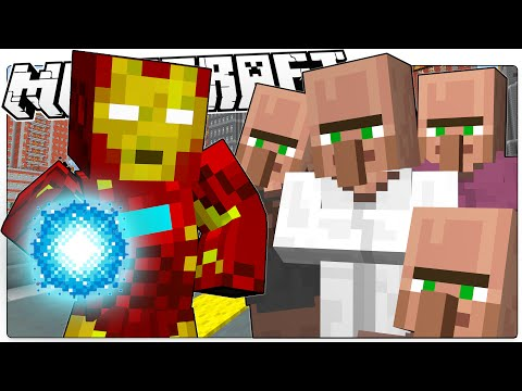 Minecraft | IRON MAN SAVES MINECRAFT | Custom Command Adventure (Minecraft Roleplay)