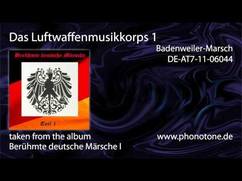 Das Luftwaffenmusikkorps 1 - Badenweiler-Marsch