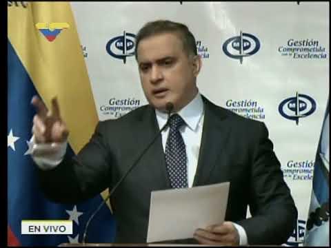 Fiscal Tarek William Saab, rueda de prensa sobre casos engavetados por Luisa Ortega Díaz