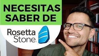 Aprender Inglés con la App Rosetta Stone - 4 Cosas que necesitas saber (2019)