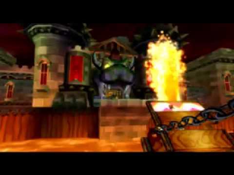 Mario Kart Wii Music Bowser S Castle Ver 2 Youtube