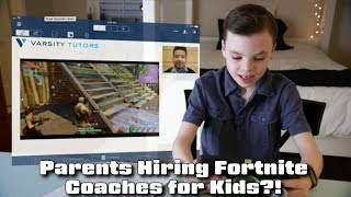 Parents Hiring Fortnite Coaches for their Kids - #CUPodcast