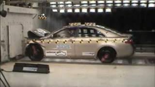 2007-2011 Toyota Camry NHTSA crash test (NCAP): Frontal impact
