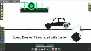 #Animation Electricity generation from speed breakers
