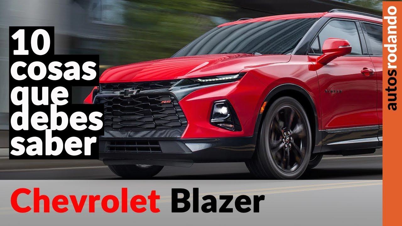 Nueva Chevrolet Blazer 2020 10 Cosas Que Debes Saber