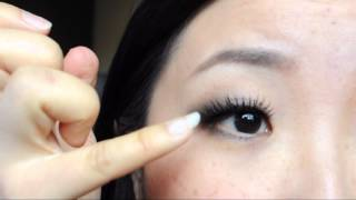 用假睫毛撑出外双 From Monolids to Double Lids by Using Fake Lashes Thumbnail