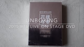 Download Video Unboxing 2015 BTS Live On Stage DVD (kpoptown) MP3 3GP MP4