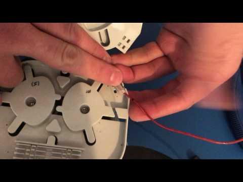 Step 7 Remove Uncut Tight Buffer