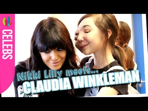 Nikki Lilly Meets Strictly's Claudia Winkelman
