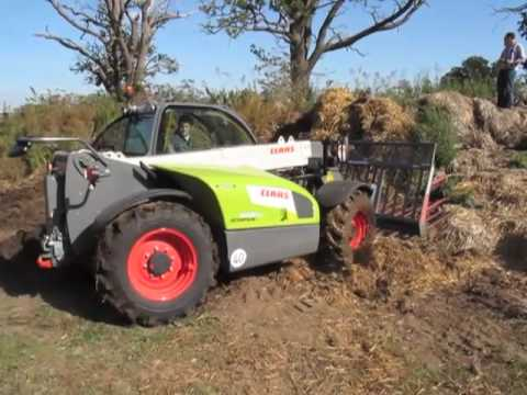 Claas Scorpion 6030CP UK press launch