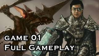 """magic The Gathering"" Gameplay Kuldotha Red Vs Pike G1 (01-27-2012)"