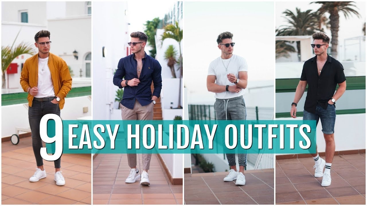 [VIDEO] - 9 Easy & Simple Men's Holiday Outfits | Men's Outfit Ideas 2019 2