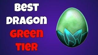 War Dragons Best Dragon Green Tier