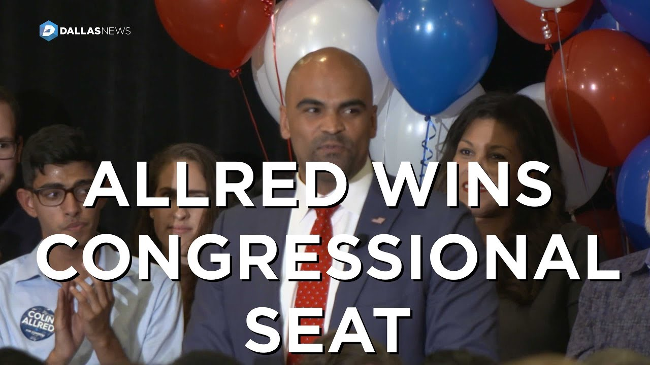 Democrat Colin Allred grabs Dallas-area U S  House seat from