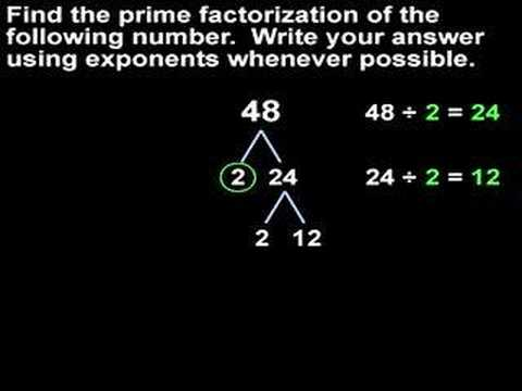 what is a tree diagram in math chinese 110cc atv wiring prime factorization - mathhelp.com help youtube