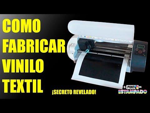 COMO FABRICAR VINILO TEXTIL - SECRETO REVELADO (SERIGRAFIA)