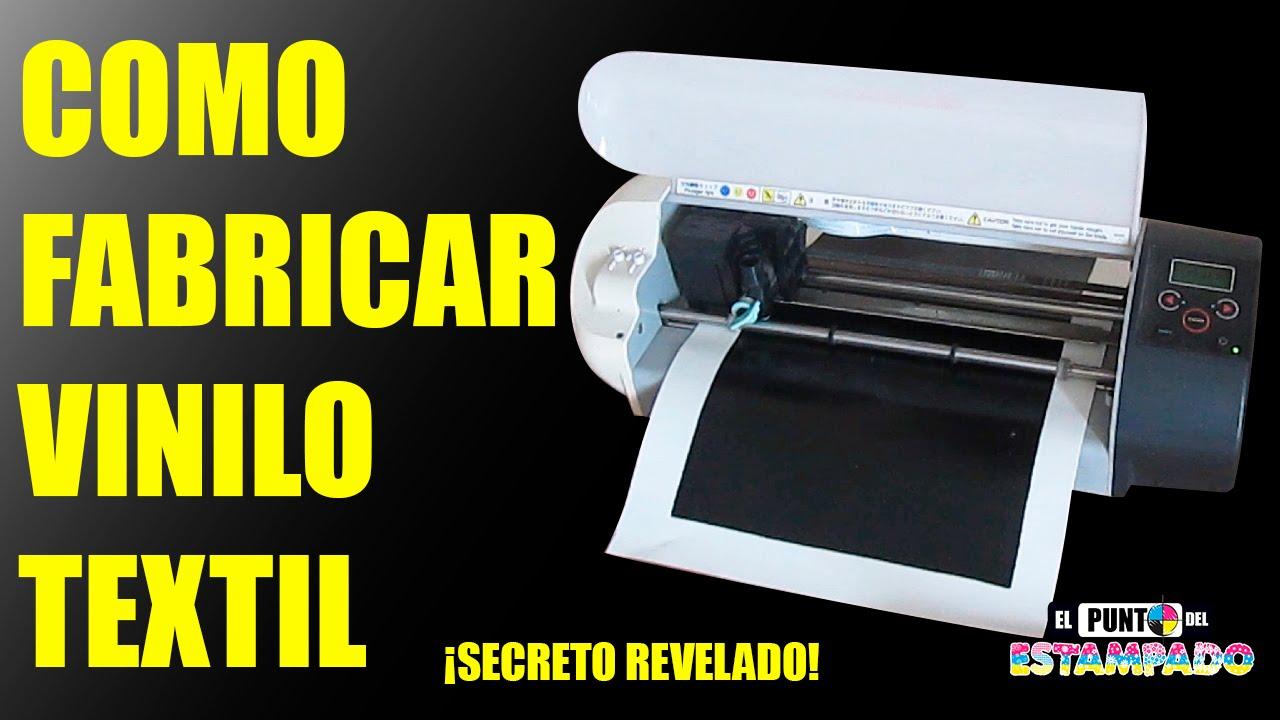 Como fabricar vinilo textil secreto revelado serigrafia - Como poner suelos de vinilo ...