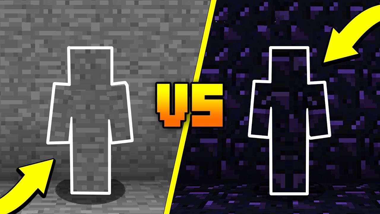 I AM STONE CHALLENGE Vs OBSIDIAN CAMO TROLL Minecraft
