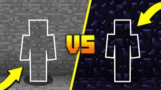 I AM STONE CHALLENGE vs OBSIDIAN CAMO TROLL! (Minecraft TROLLING)