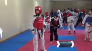 Сын Шахина Мирзоева принял участие в тренировке по тэквондо в Ереване