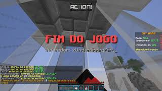 skywars:jogando com o kit viking no skyMinigames