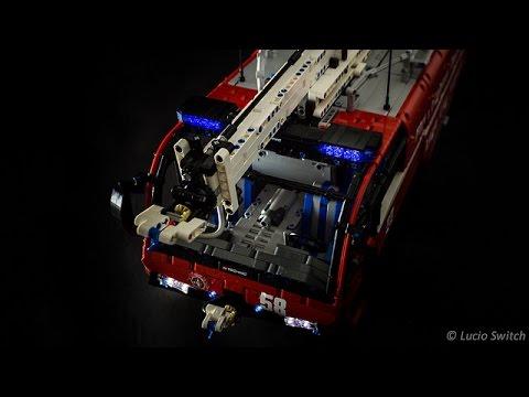 lego technic airport crash tender youtube. Black Bedroom Furniture Sets. Home Design Ideas