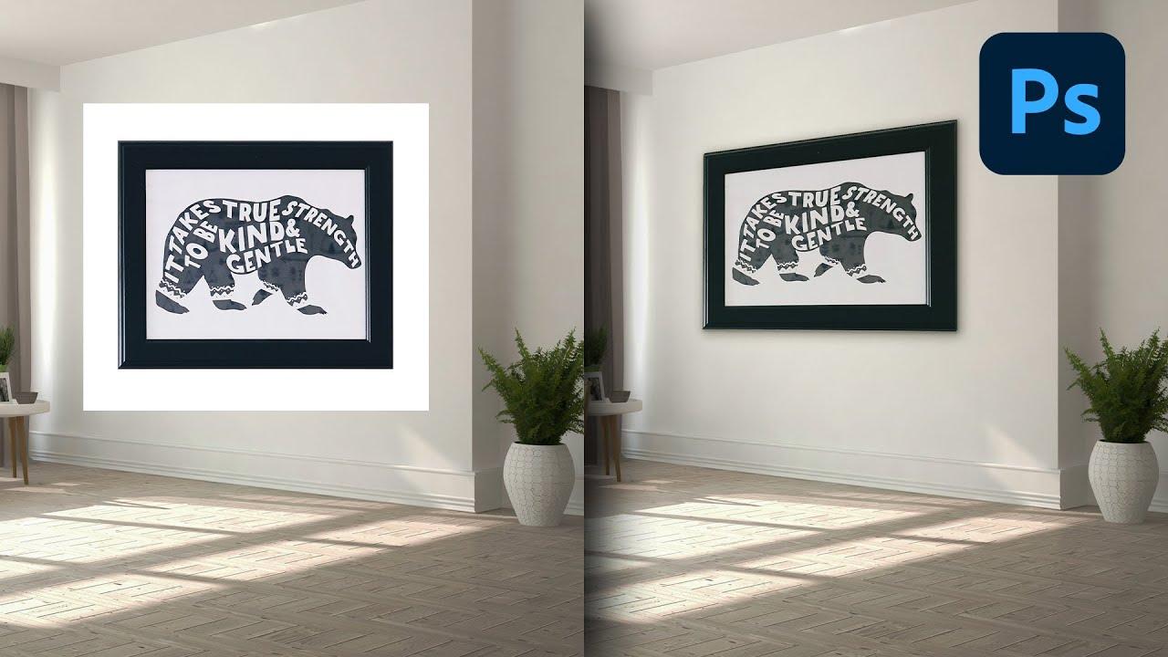 Come inserire qualsiasi cosa in Prospettiva nelle tue Foto in Photoshop!