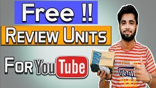 How to Get Free Review Units For Youtube in India | Without any Subscribers - Hindi Tutorial