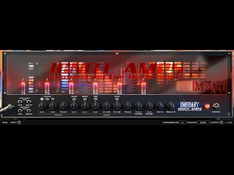 """Emissary"" by Ignite Amps - Virtual High Gain Amp - Metal Tone Test (Free Vst Plugin)"