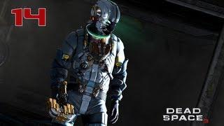 Прохождение Dead Space 3 - Часть 14 — Снежное чудище (The Snow Beast) | «Тау Волантис»
