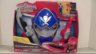 Blue Ranger Hero Set Review [Power Rangers Super Megaforce]