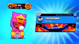SANDY + TAKEDOWN - NEW MODE! // BrawlStars