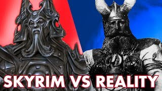 SKYRIM: In-game Models VS Real World Inspiration - The ART!
