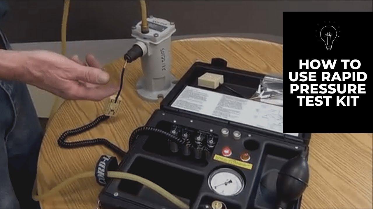 Proper use of RPRR field test kit on