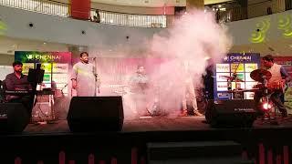 #08 SPANDA Concert at V.R.Chennai Mall | Sarvesh Karthick