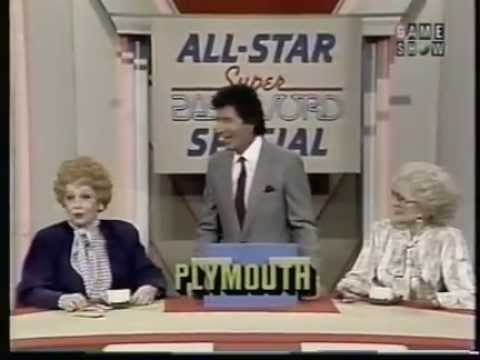 Super Pasword All Stars 1987 Lucille Ball, Betty White, Estelle Getty