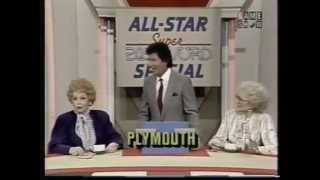Super Pasword All Stars 1987- Lucille Ball, Betty White, Estelle Getty