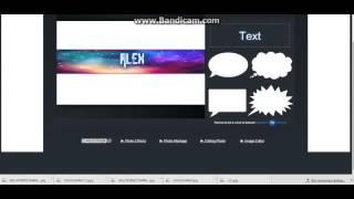 Видеоурок №1 Как сделать шапку для канала (без программ)