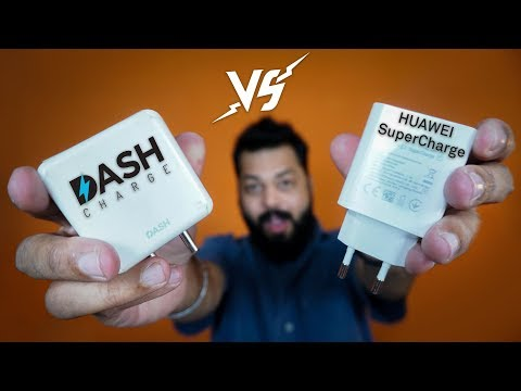 WHO CHARGES THE BATTERY FASTEST ⚡🔋⚡ Huawei SuperCharge Vs OnePlus Dash Charge Vs 10W Charge
