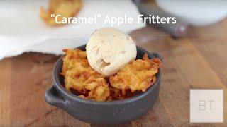 Caramel Apple Fritters