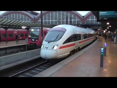 Trains at Copenhagen Central Station (København H) 02/03/16