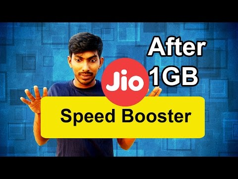 Ways to Increase Jio Internet Speed after 1 GB Limit - Tamil Techguruji