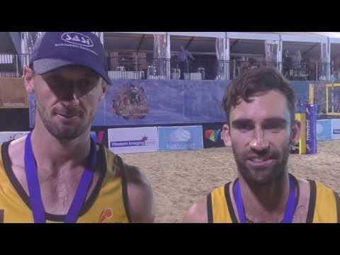 Chris McHugh Damien Schumann Four Nations Cup