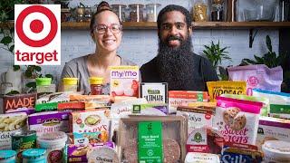 We Bought 50+ Game changing Vegan Items at Target | Vegan Grocery Haul / Taste Test